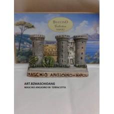 MASCHIO ANGIOINO IN TERRACOTTA