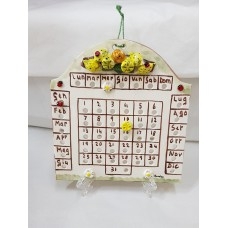 CALENDARIO PERPETUE IN CERAMICA SOGGETTO LIMONI H19XL19