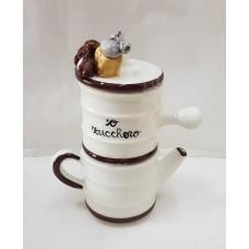 CAFFETTIERA NAPOLETANA IN CERAMICA  CM20