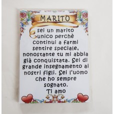 MAGNETE LEGNO DEDICATO AL MARITO
