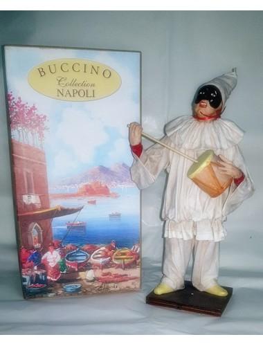 Pulcinella Terracotta Vestito con Poutipou (CM 30)