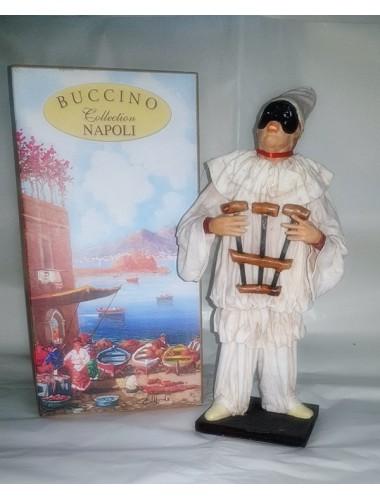 Pulcinella Terracotta Vestito con Triccheballacche (CM 30)